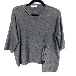 Grey THML buckle sweater R30